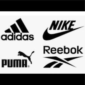 Nike Adidas Puma Reebox organizers